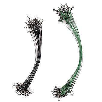 20st Fiske tråd Linje koppel Lure Wire Ledare rostfritt stål Rullande vridsnurr