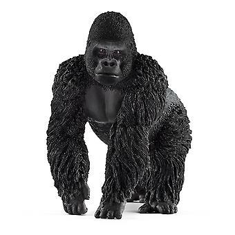 Schleich Wild Life - Male Gorilla Figure