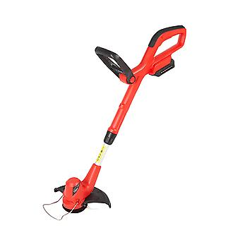 Cordless 20V Lightweight Grass Lawn Edge Weed Trimmer - Battery & Fast Charger