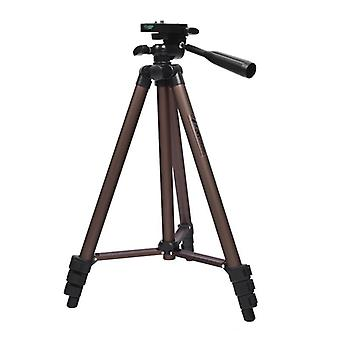 Professional Camera Tripod Stand Portable Aluminum With Holder For Canon Nikon
