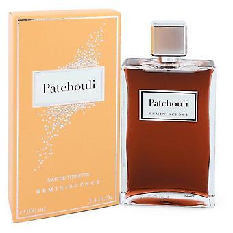 Reminiscence Patchouli Eau De Toilette Spray By Reminiscence 3.4 oz Eau De Toilette Spray