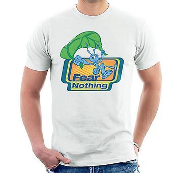 Pixar A Bugs Life Flik Fear Nothing Men's T-Shirt