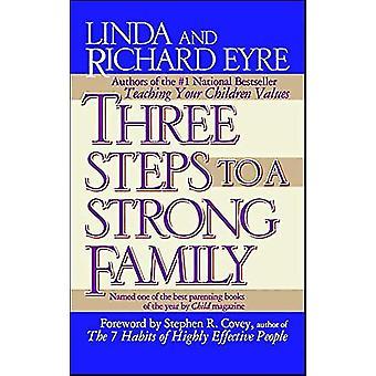 ثلاث خطوات إلى عائلة قوية من قبل ليندا اير -- 9780684802886 كتاب