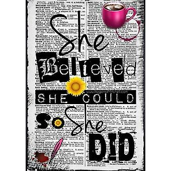 She Believed She Could So She Did by Rogena Mitchell-Jones - 97815141