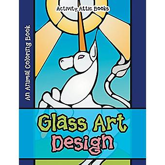 Glass Art Design - An Animal Coloring Book by Activity Attic Books - 9