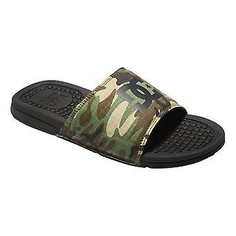 DC Bolsa Flip Flops - Black / Camo