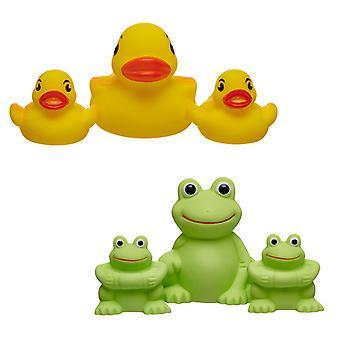 Hayati Bebek SPLASH Banyo Oyuncak Fışkırtmak Ördekler Kurbağalar