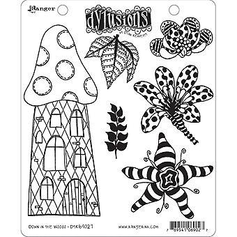 Dylusioner av Dyan Reaveley - Cling Stamp Sets - Nere i skogen