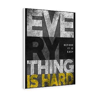 Kaikki on vaikeaa ennen kuin se on helppoa.