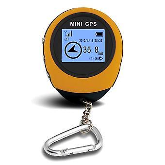 Mini gps navigation receiver portable outdoor location finder tracker