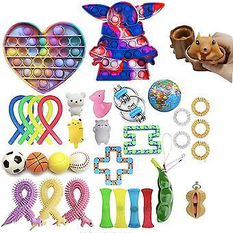 Nieuwe stijl set sensorische fidget speelgoed set stress relief speelgoed
