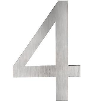 tectake Husnummer i rostfritt stål