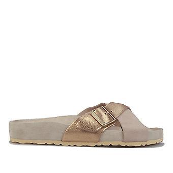 Women's Birkenstock Siena Exquisite Sandals Regular Width in Brown