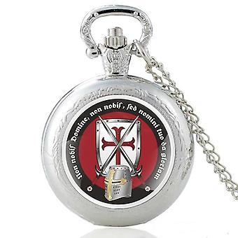 Three colors knights templar pocket watches