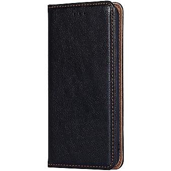 FengChun Leder Folio Hülle geeignet für DOOGEE N30, Premium PU/TPU Brieftasche Cover Case, mit