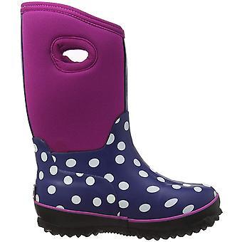 哈特利女孩的幼儿氯丁橡胶靴子, 波尔卡点, 6 美国儿童