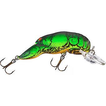 Rebel Teeny Wee languster 1/10 oz fiske Lure - Fire Tiger