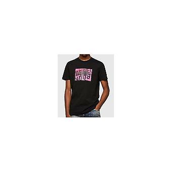 T-diego T16 Cotton Black T-shirt diesel