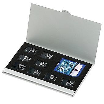 8 V 1 prenosnej hliníkovej pamäťovej karte, úložnom priestore