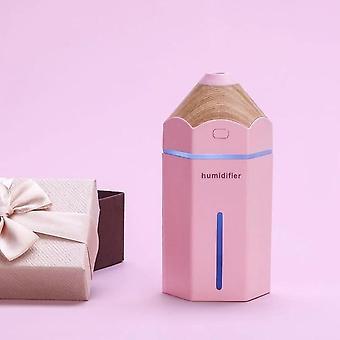 Pencil Humidifier USB Ultrasonic Aromatherapy Air Humidifier LED Light Aroma Purifier Humidifiers