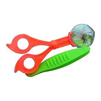 Plastic Insect Scissor Clamp With Tweezers Butterfly Catching Tools