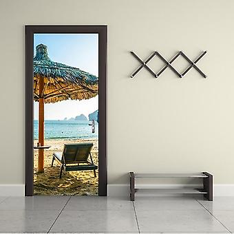 3d Beautiful Landscape Door Sticker - Set 2