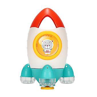15.6 * 15.4 * 23Cm zdjęcie 1 dziecko kąpiąca zabawka śmieszne kreatywna kąpiel obrotowa woda spray narzędzie do kąpieli dla dziewczynki chłopiec (pomarańczowy) dt3513