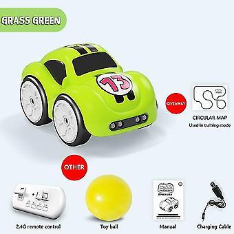 Mini rc älykäs anturi auto radio-ohjattu sähkö söpö kauko-ohjaus auton sarjakuvatila älykäs musiikki kevyt ajoneuvo lelu