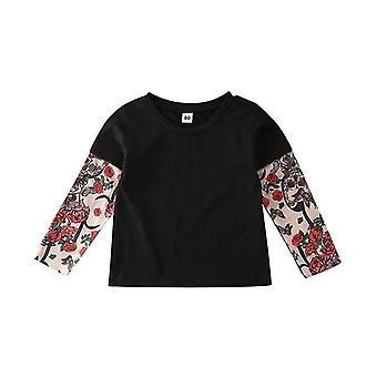 Newborn Tops T-shirt Unisex Bodysuit -casual Long Sleeve Cotton Outfits