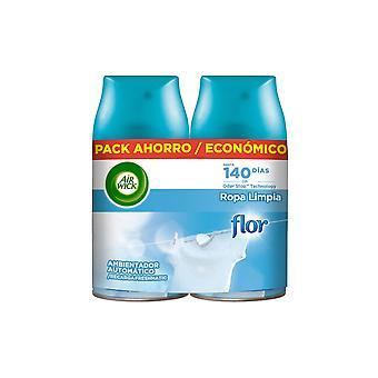 Ambientador Air Wick Ropa limpia (2 piezas)
