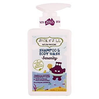 Jack N' Jill Serenity Shampoo and Body Wash, 10.14 Oz