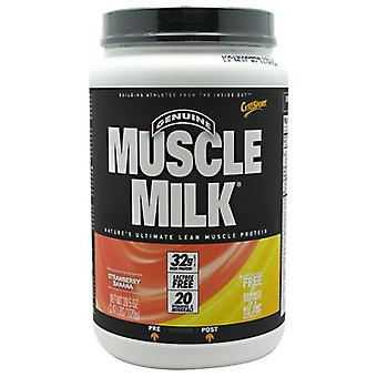 Cytosport Muscle Milk, Strawberry Banana, 2.48 Lb