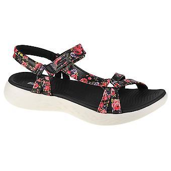 Skechers ON THE GO 600 Fleur 140018BKW universaalit kesäiset naisten kengät