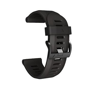 Soft Silicone Replacement Sport Wirst Watch Band Strap For Garmin Fenix 3