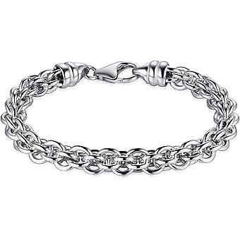 Millet Jewels - Collier - Ring Fantasy - 7.6mm Wide - Longueur 50cm - Gerhodineerd Silver 925