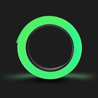 Fluoreszierendes Klebeband 10m×15mm Phosphor Markierungsband Leuchtendes Band Hochwertige