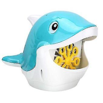 Été extérieur électrique baleine bleue Bubble Machine