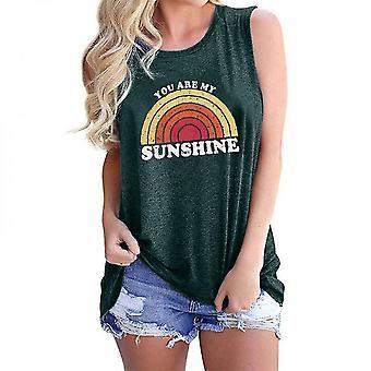 Women's Rainbow Sunshine T-shirt