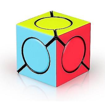Seks Spot Speed Magic Cube, Professionel Vippe Rubik's Cube Puzzle legetøj