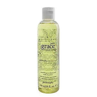 Philosophy Pure Grace Tropical Summer Nourishing  In-Shower Oil 240ml/8oz