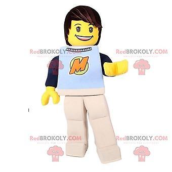 Maskottchen REDBROKOLY.COM Lego Spielzeug GelbEr Playmobil