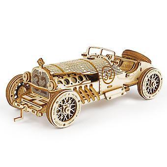 Klassinen Diy Movable 3d Grand Prix -auto lelu