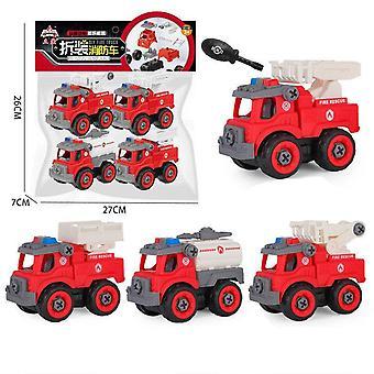 Kinder's pädagogische Feuerwehr autospielzeug