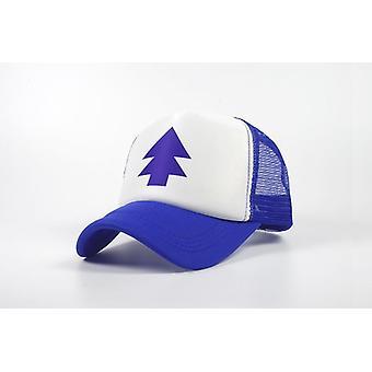 Tecknad dipper justerbar bomull baseball hatt pine tree sun caps visors