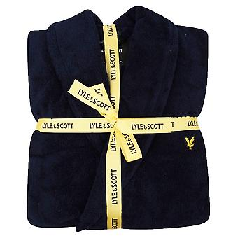 Lyle and Scott Lucas Dressing Gown - Peacoat Navy