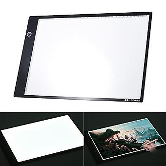A4 Led Light Slim Drawing Board With Adjustable Brightness