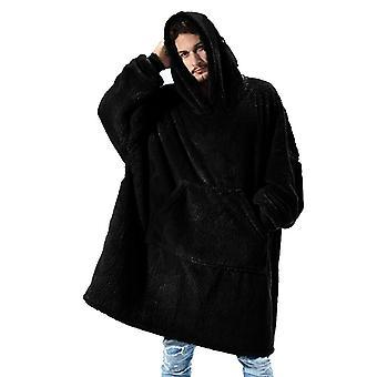 Kvinnors Hoodie Filt Plysch Stor Hooded Sweatshirt