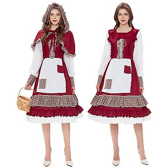 Women's Red Riding Hood Costume Christmas Cosplay