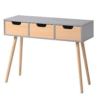 Kotipöytä - 3 laatikkoa