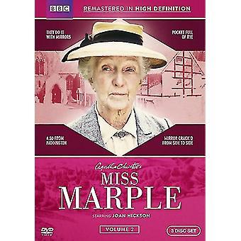 Miss Marple: Volume Two [DVD] USA import